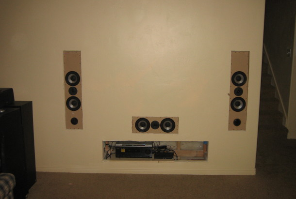 In Wall Home Theater Systems audio innovation -dan marx www.danmarx